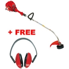 Victus VB260-TR Curved-Shaft Petrol Grass Trimmer + Free Ear Defenders (4175114)