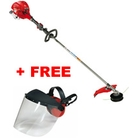 Victus VB260-L Straight-Shaft Petrol Grass Trimmer + Free Pro Poly Face Screen with Ear Defenders (001000971A)