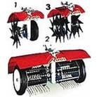 Scarifier, Aerator, Border Edger Lawn Care Attachments (For Mantis Tiller/Cultivator)