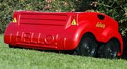 McCulloch M53-625CMDW Petrol Hi-Wheel Self-Propelled Lawn Mower