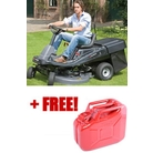 Murray Mid-Engine Ride-On Mower with Collector (309007X51) Plus Free 10 Litre Gerry Can (Special Offer)