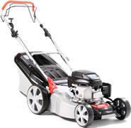 Al-Ko 4710HW Easy Mow High Wheeler Petrol Power Driven Lawn Mower