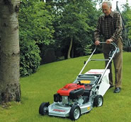 Lawnflite-Pro 553HWS Four-Wheel Lawn Mower