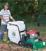 Billy Goat KV600SP Estate Series Lawn Vacuum with Rear-Wheel Drive