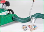 Billy Goat On-Board Hose Kit (891125 - for KV & TKV Series Lawn Vacuums)