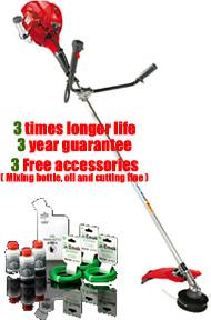 Victus VB260 Straight-Shaft Petrol Brush Cutter - Triple Bonus Offer