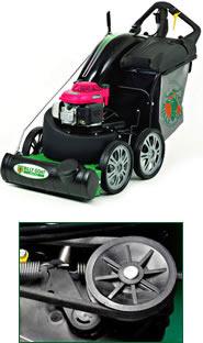Al-Ko 5200BRV Powerline 4-in-1 Petrol Rotary Lawn Mower (Self-Propelled)