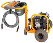 Ryobi PPW-3000 Heavy Duty Petrol Pressure Washer