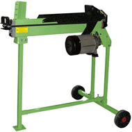 The Handy THLS-B Horizontal Electric Log Splitter with Stand THLSS-B