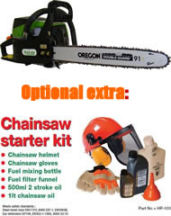 "Handy THCS52 Petrol Chainsaw (18"""" Guide Bar)"