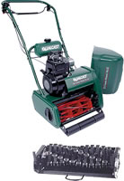 Qualcast Suffolk Punch 17SK Petrol Cylinder Lawn Mower (Kawasaki Engine)
