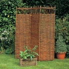 3 Panel Willow Garden Screening - 120  x 175cm