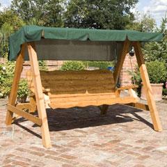 Somerset Balmoral 3-Seater Swing Seat