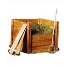 Wooden Modular Compost Bin 4 Sided
