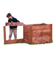 Additional 3-Sided Compost Bin (for use with DD2537D)