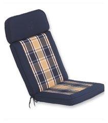 Wooden Garden Recliner Cushion
