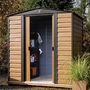 Rowlinson Woodvale 6x5 Metal Shed