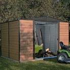 Rowlinson Woodvale 8x6 Metal Shed