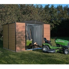 Rowlinson Woodvale10x12 Metal Shed