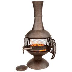 Medium Cast Iron Open Bowl Chiminea