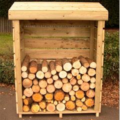FSC Wood Log Store