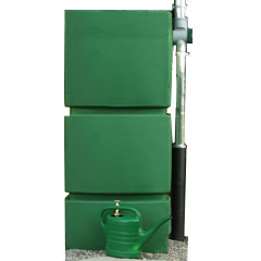 Green Wall Water Tank 750l with Filter Collector