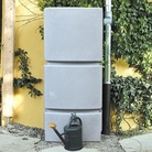 Grey Wall Water Tank 750l with Filter Collector