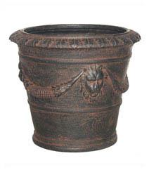 Decorative Round Planter