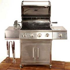 Gas Range BBQ Grill