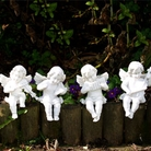 Group of Cherub Garden Ornaments