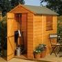 Rowlinson Shiplap Apex FSC Garden Shed 6'x4'