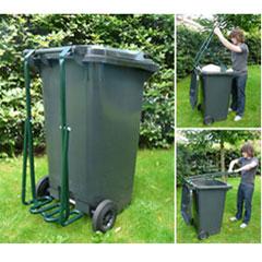 Rubbish Ram Wheelie Bin Compactor