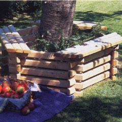 Tree Seat and Planter (Medium)