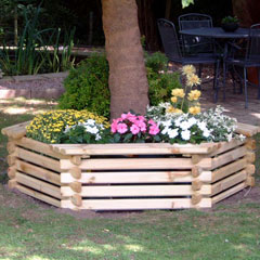 Tree Seat and Planter (Large)