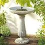 Solar Birdbath- Portsmouth Design