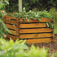 FSC Wooden Compost Bin 100cm Square