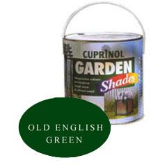 Cuprinol Garden Shades - Old English Green 1 Litre