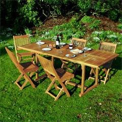 White Oak Extending Table