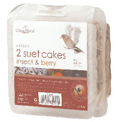 Chapelwood Twin Pack Suet Cake