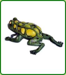 Cast Iron Frog Tealight Lantern