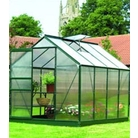 Gardman Green-Framed Aluminium Greenhouse 8'x6'