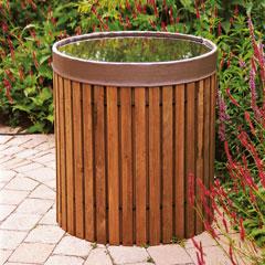 Wooden Rainwater Butt 420ltr