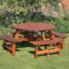 Richmond Large Round Picnic Table