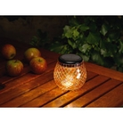 Mosaic Solar Glass Light