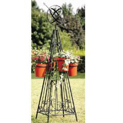 Garden Armillary Obelisk