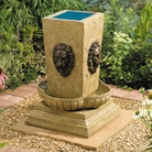 Lions Head Solar Fountain