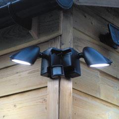 Duo Security Solar Light