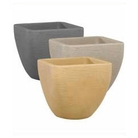 Contemporary Square Top Plant Pot