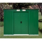 6 x 4 Pent Metal Sheds