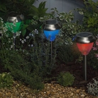 Dual Function Stainless Steel Solar Lights 8 Pack